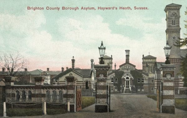 brighton county borough asylum haywards heath sussex