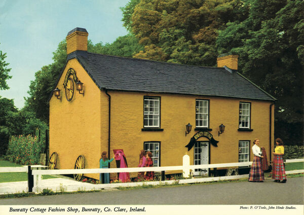 Bunratty Cottage Fashion shop, Bunratty, Co Clare