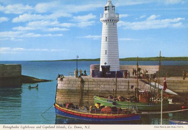 Donaghadee Lighthouse and Copeland Islands, Co. Down, N.I