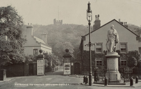 Entrance to Castle grounds, Dudley, West Midlands