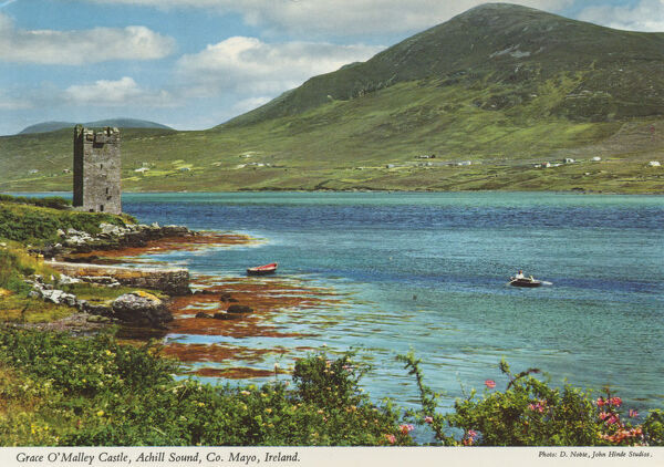 Grace O'Malley's Castle, County Mayo, Republic of Ireland