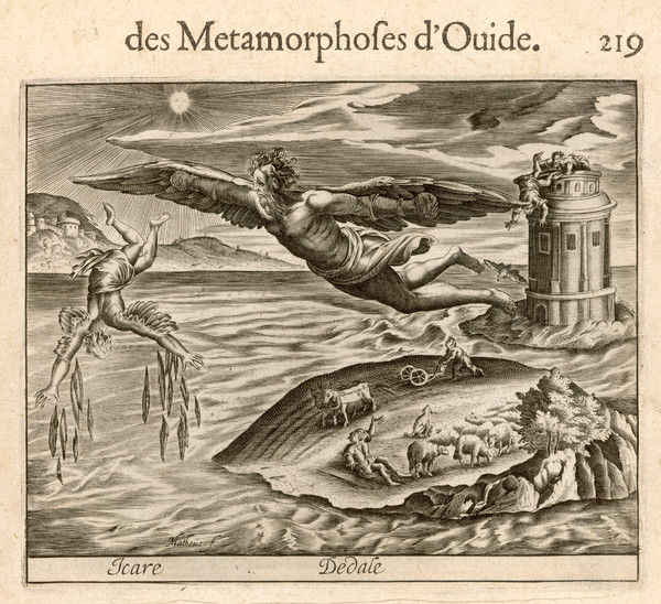 daedalus and icarus. ICARUS AND DAEDALUS