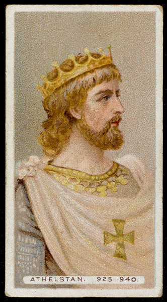 KING ATHELSTAN King of England (reigned 924-939)