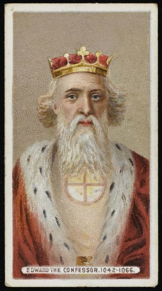 EDWARD THE CONFESSOR King of England (reigned 1042-66)