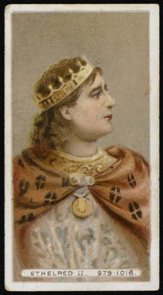 ETHELRED II The Unready King of England (reigned 978-1013 and 1014-1016)