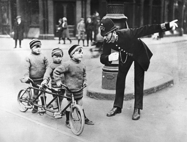 police officer children
