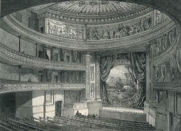 queens theatre london