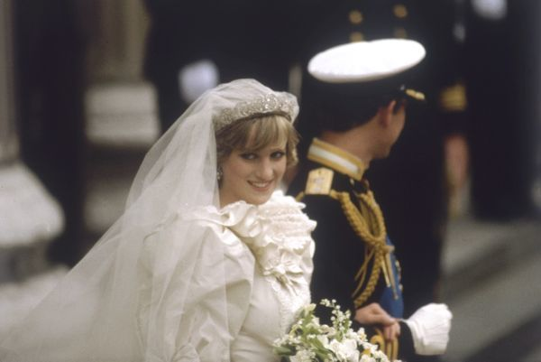prince charles and diana wedding. Wedding of Prince Charles and