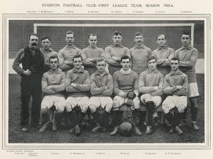 EVERTON FOOTBALL TEAM