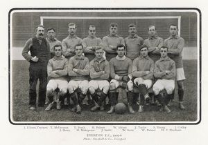 EVERTON TEAM 1905-6