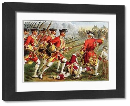 British Red Coats. British infantry (Red Coats)
