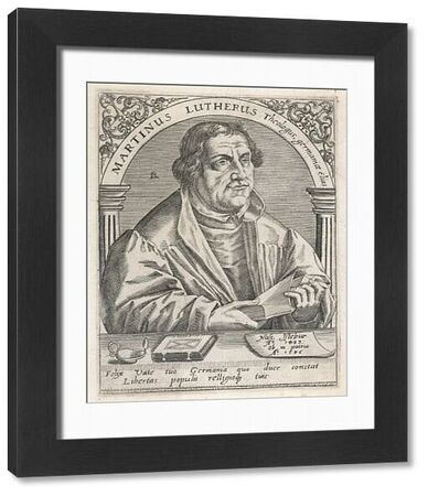 LUTHER (DE BRY). Martin LUTHER