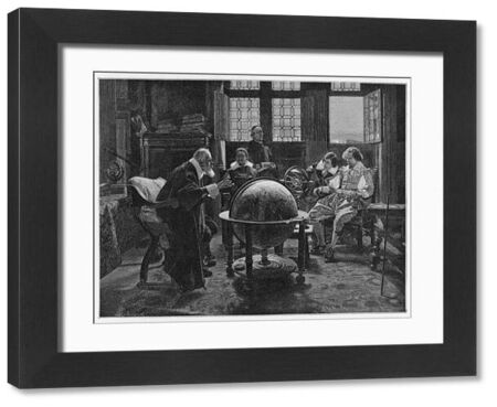 GALILEO GALILEI Italian astronomer, visited by the English poet John Milton at the villa d'Arcetri, near Firenze, Italy, in 1638
