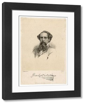 DICKENS (BROWN). CHARLES DICKENS - English writer