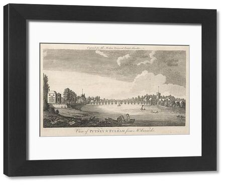 Putney Bridge and the Thames, as seen from Mr Vanneck's
