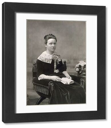 Millicent Garrett Fawcett, suffragist and early feminist, co-founder of Newnham College, Cambridge, and president of the moderate National Union of Women's Suffrage Societies (NUWSS)