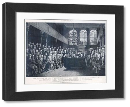 William Pitt (the Younger) addressing the House of Commons
