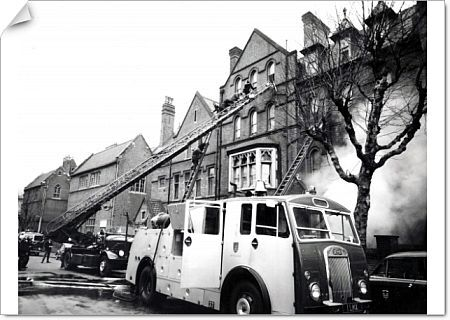 Mutual assistance took place where a nearby fire brigade would attend a fire in the London Fire Brigade area, or vice-versa