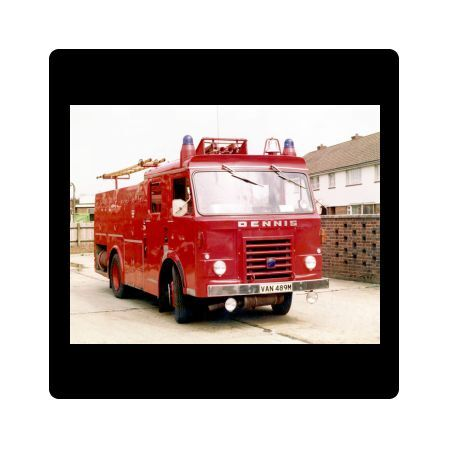 Introduced into London in the mid-1970s, this narrow wheel base pump was not a dual purpose fire engine