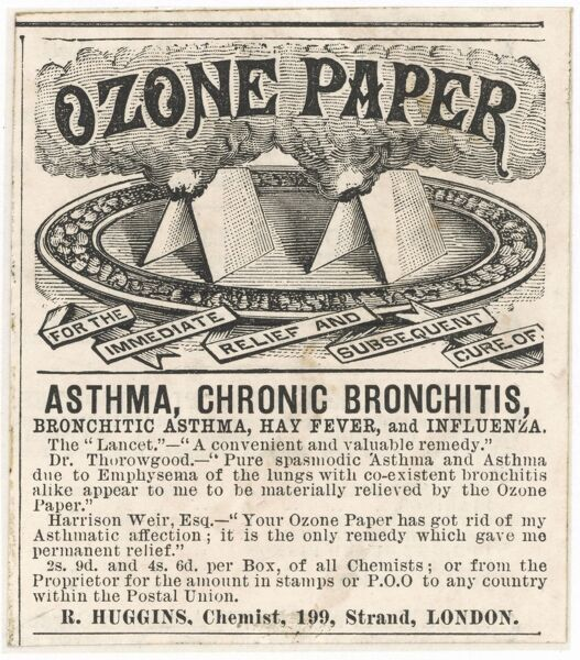 Supposed cure for Asthma and Bronchitis