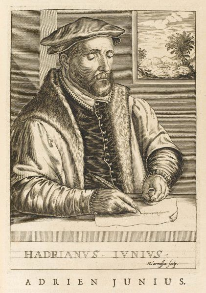 ADRIAN JUNIUS Dutch physician and scholar