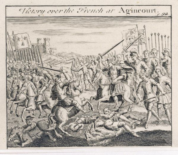 English victory at Agincourt