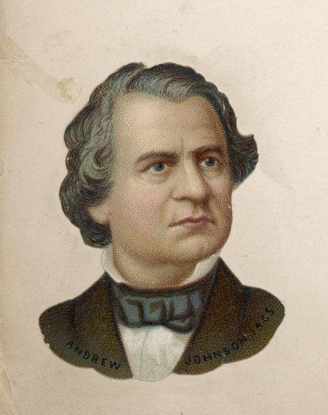 ANDREW JOHNSON President of the United States