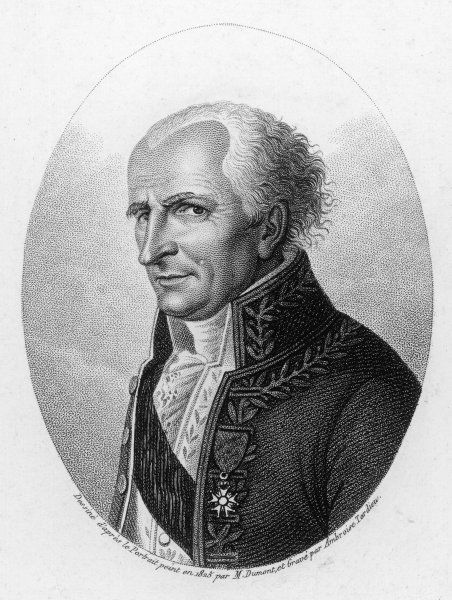ANTOINE LAURENT DE JUSSIEU French naturalist