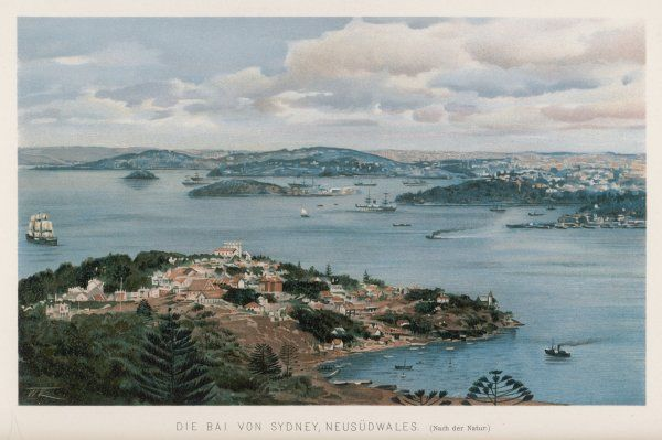 General view of Sydney Harbour