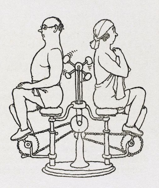 Automatic back massager / W H Robinson