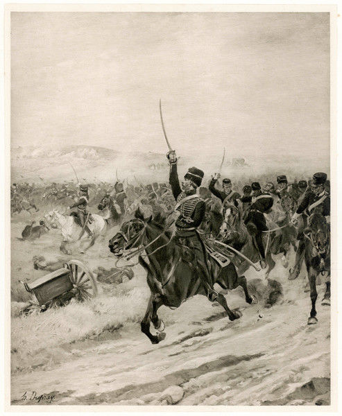 BALACLAVA / DUPRAY. The Charge of the Light Brigade - 'into the Valley of Death !'