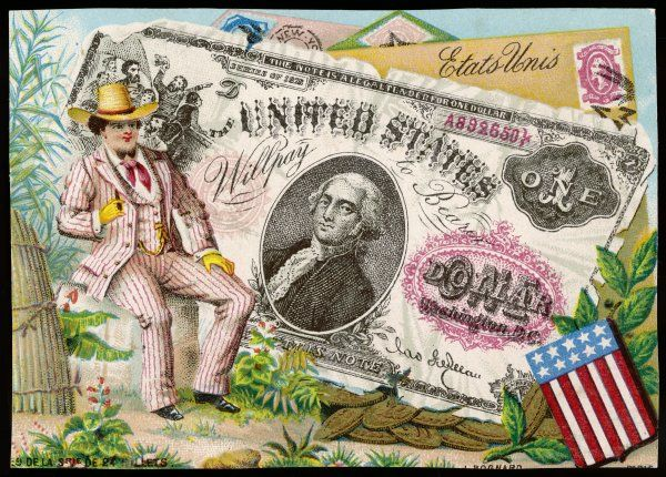 BANK NOTE - USA. USA - ONE DOLLAR