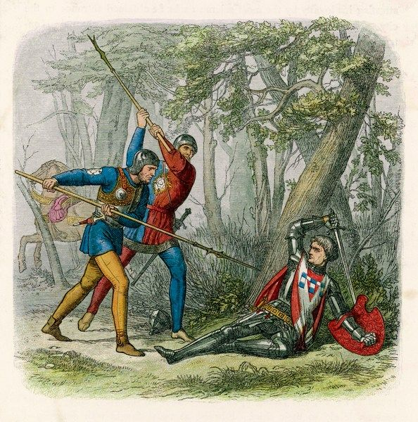 At the battle of BARNET, Edward IV defeats the Lancastrians under the earl of Warwick, who is himself killed