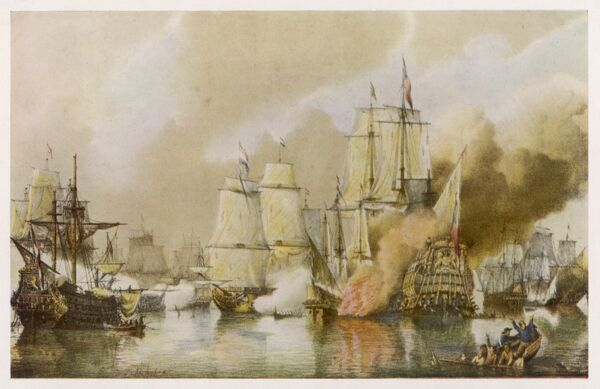 BATTLE OF SOLEBAY (Southwold Bay) between the English/French fleet and the Dutch: both sides suffered heavy losses
