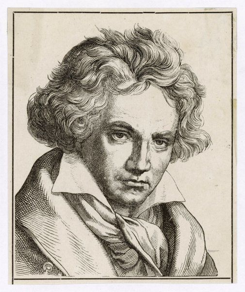 BEETHOVEN/ANON ENG. LUDWIG VAN BEETHOVEN German composer
