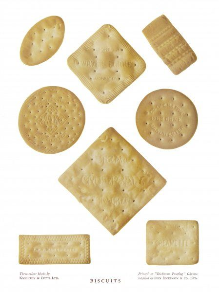 Selection of biscuits for eating with cheese, manufactured by the Co- operative Society of Manchester, Lancashire [England]