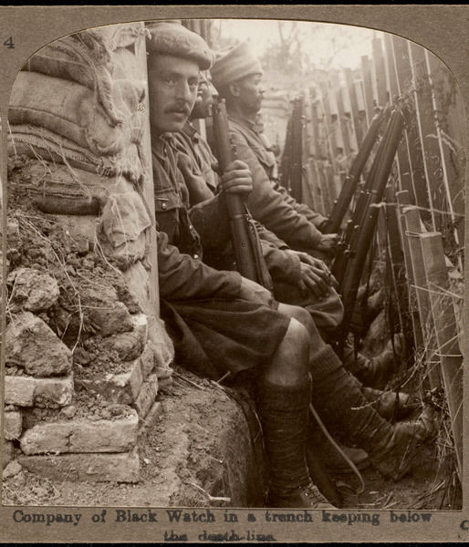 Black Watch Trench Wwi