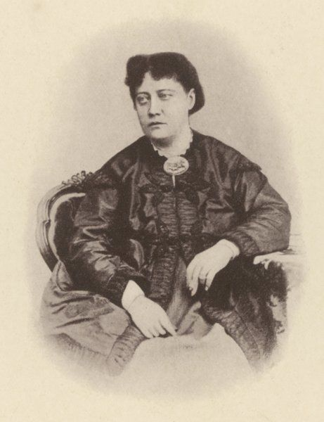 HELENA PETROVNA BLAVATSKY Russian mystic, writer &c while still fairly young
