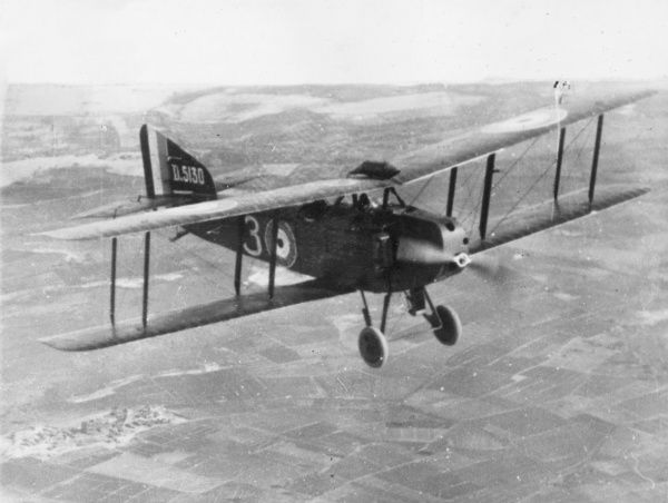 Prints of British Armstrong Whitworth FK8 biplane in ...