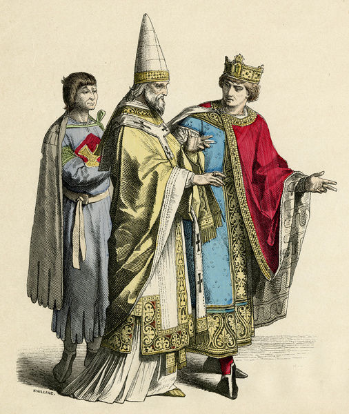 C11th Dress/ Pope & King
