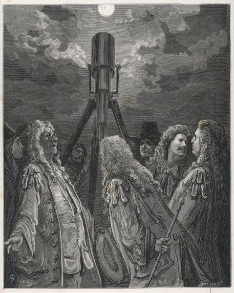 A group of learned astronomers in 17th century France