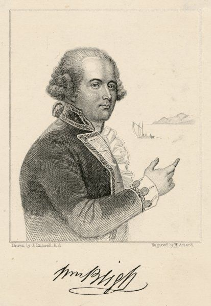 CAPTAIN BLIGH. WILLIAM BLIGH Naval officer; victim of the mutiny on the 'Bounty'