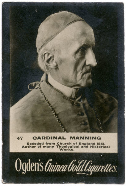 Cardinal Manning, Roman Catholic priest and author