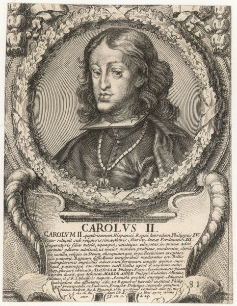 CARLOS II - Spanish monarch whose lack of heir led to the War of the Spanish Succession