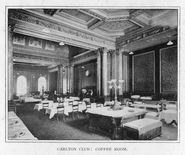 Interior of the coffee room
