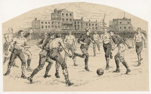 The Old Carthusians vs. Preston North End