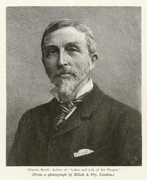 CHARLES BOOTH English shipowner and sociological writer