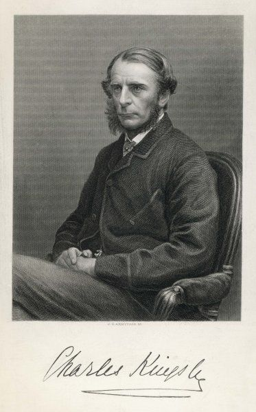 CHARLES KINGSLEY Writer and clergyman