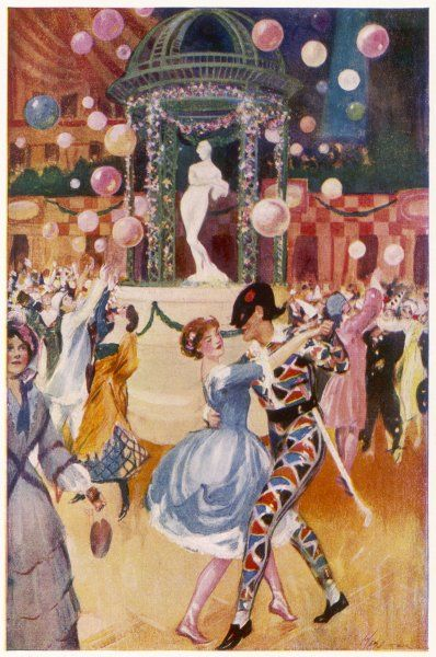 The Chelsea Arts Ball, held annually at the Albert Hall, London 'the gayest and most characteristic of our English artists' revels'