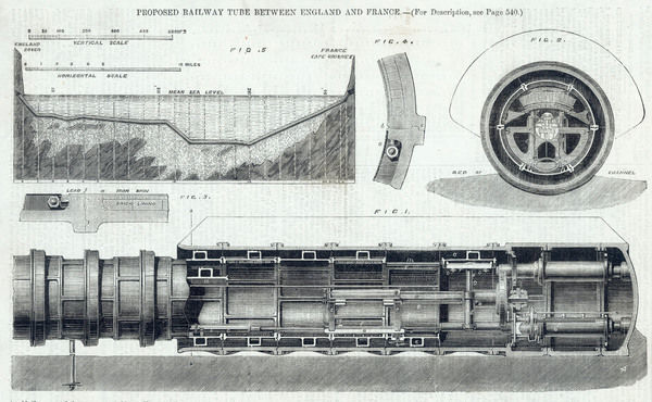 Bateman and Revys 'railway tube' project